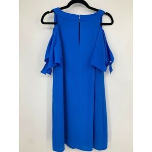 Chico's Dresses - chicos small dress tunic cold shoulder keyhole